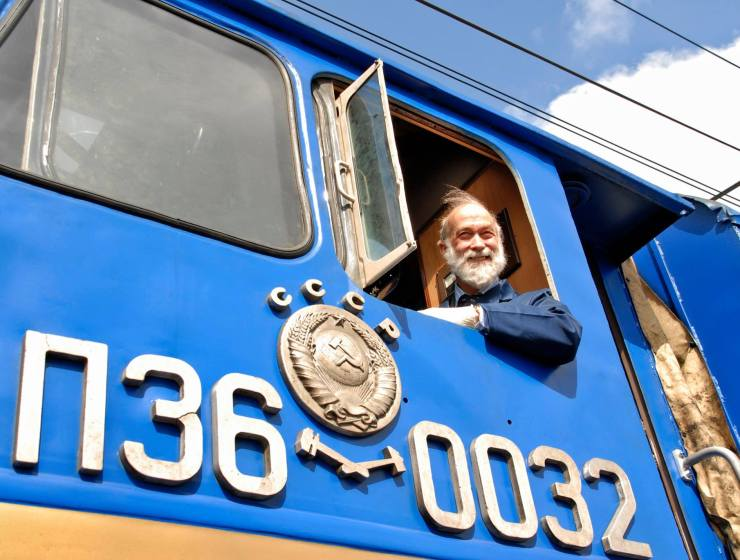 HRH Prince Michael of Kent GCVO with Golden Eagle Luxury Trains