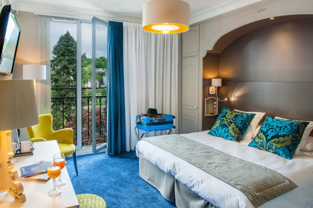 Grand Hotel Gallia & Londres bedroom suite