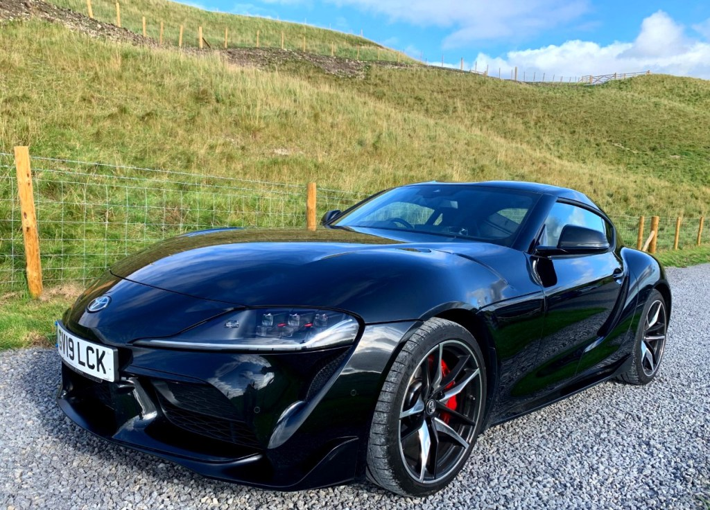 Luxurious Magazine Road Tests the Toyota GR Supra 3.0L Pro in North Yorkshire 4