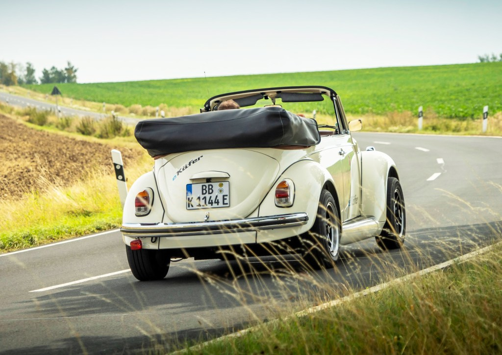 eClassics and Volkswagen Group Components Put the 'E' into a Classic Beetle 1