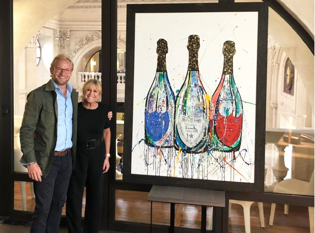 InterContinental Hotels Commission Luxury London Artist Alexander Hall