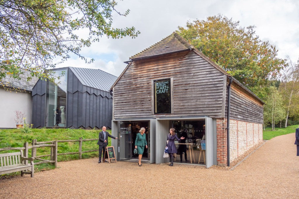 The Duchess of Cornwall at the Ditchling Museum of Art + Craft