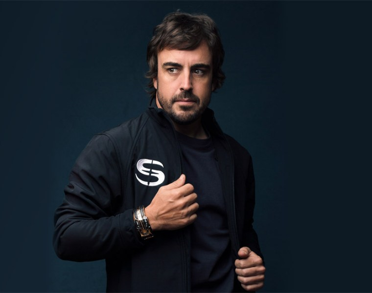 Fernando Alonso Senturion Ambassador.