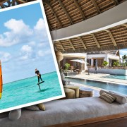 Luxurious Magazine Attempts to Master the Skill of Ocean Kitesurfing in Mauritius