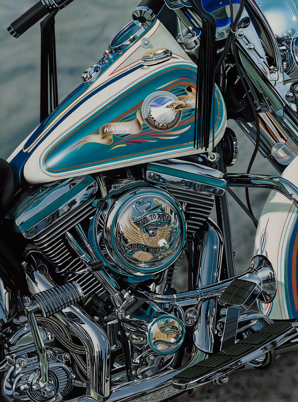 'Live to Ride' by Scott Jacobs.