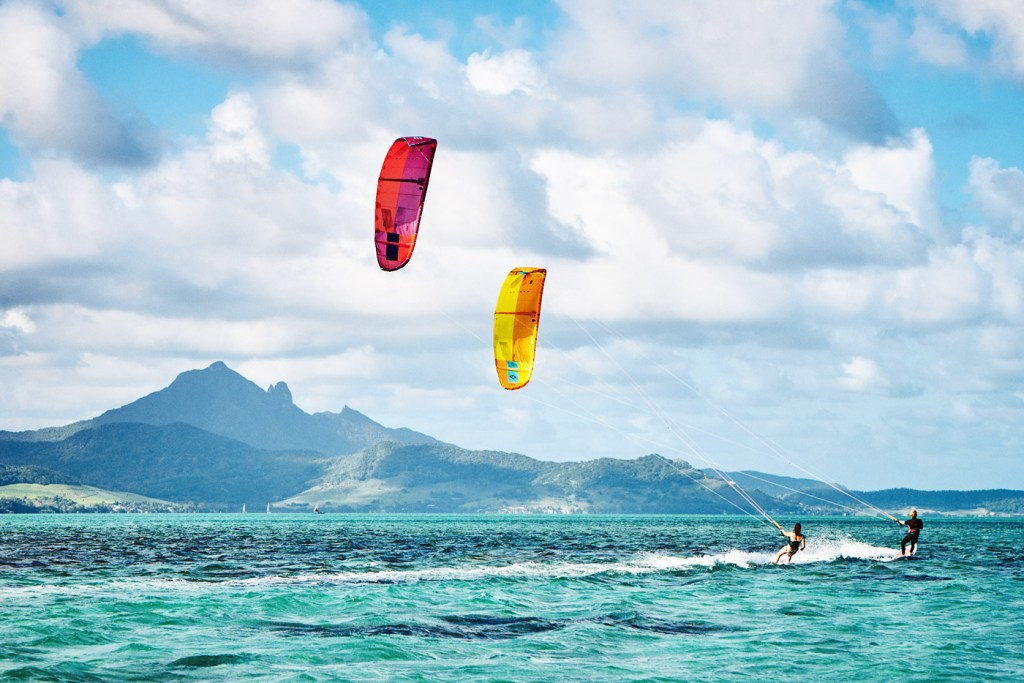 Luxurious Magazine Attempts to Master the Art of Ocean Kitesurfing in Mauritius