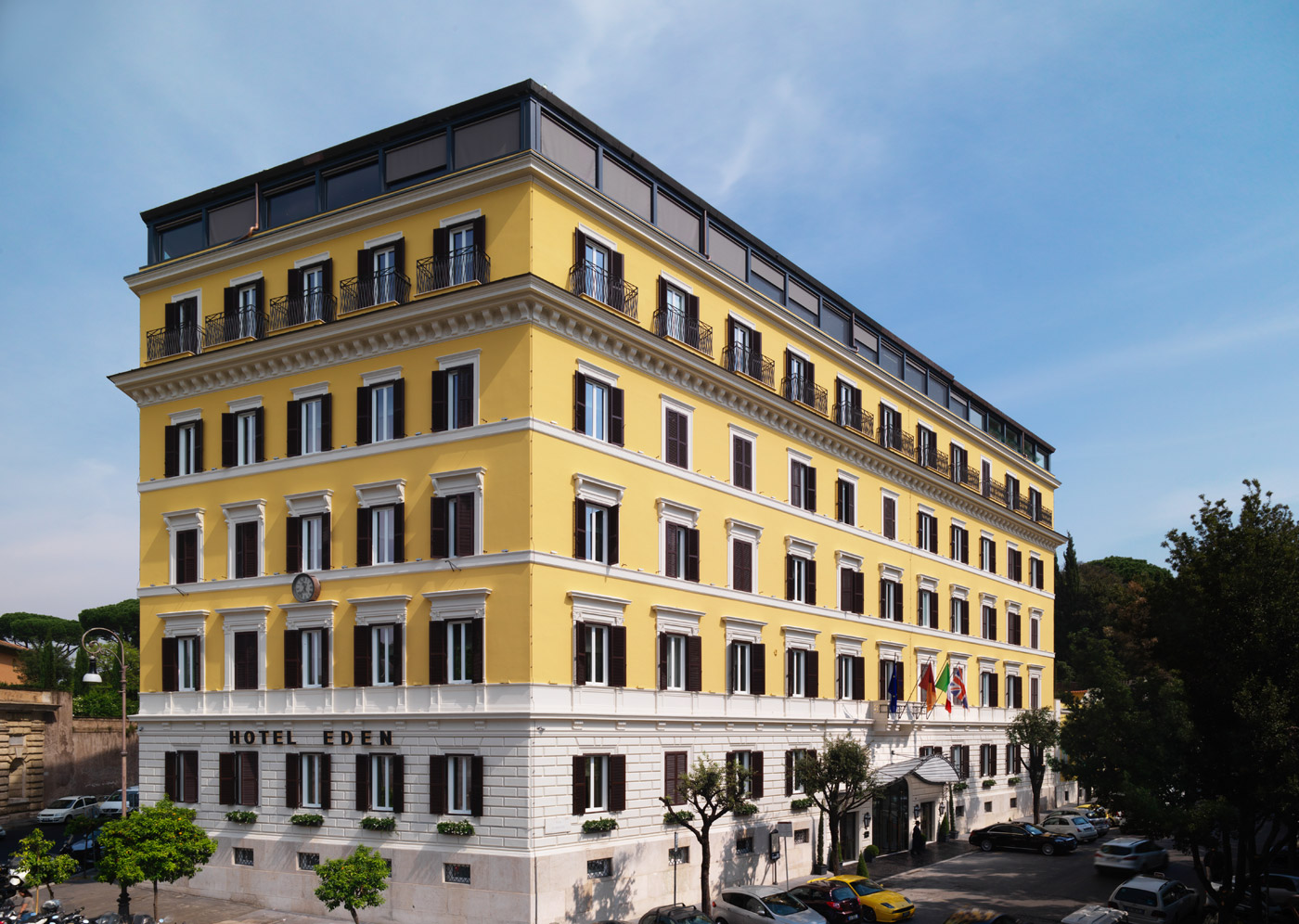 Rome's Luxurious Hotel Eden Celebrates Its 130th Anniversary