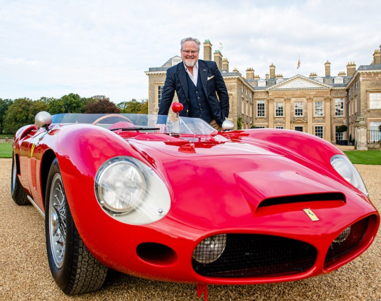 Auto Royale Shark Nose Ferrari 196 SP at Althorp