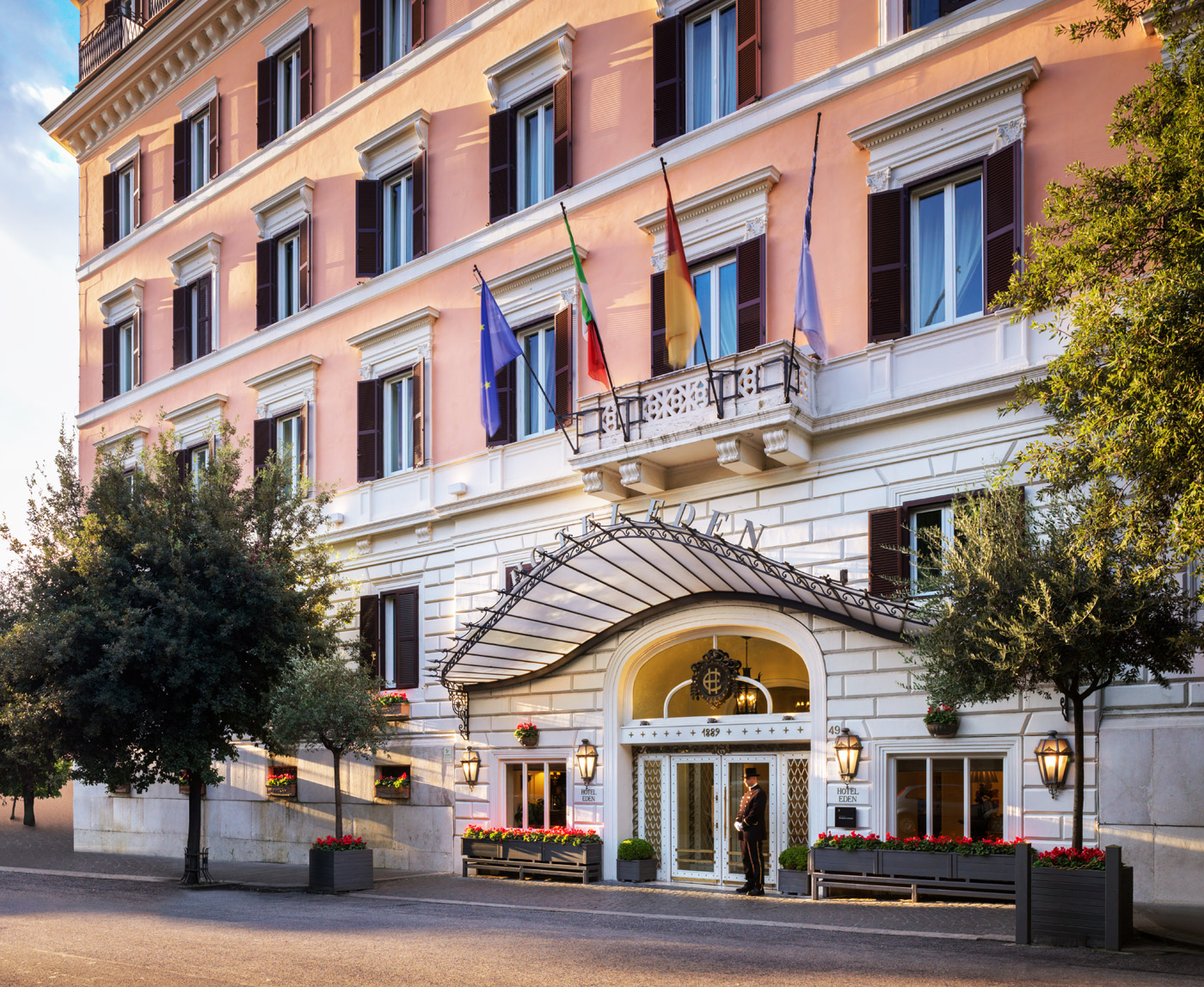 130 years of history and luxury at the Hotel Eden in Rome