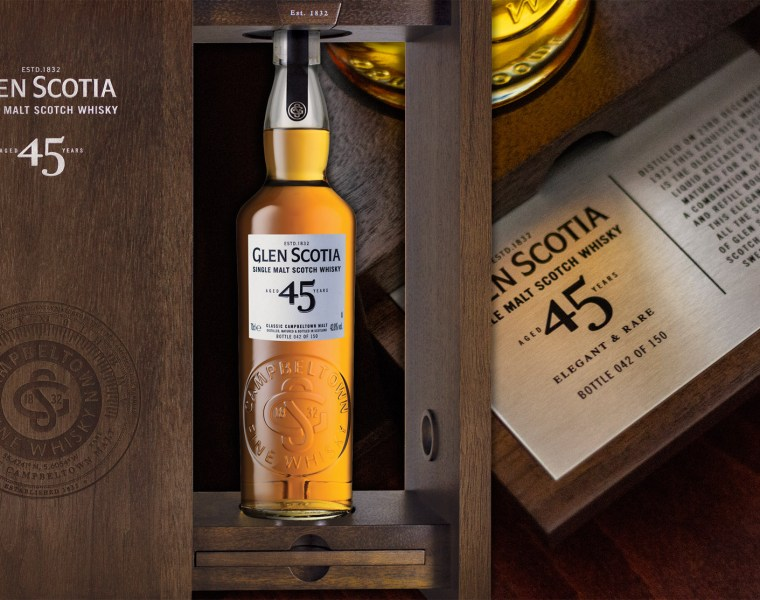 Glen Scotia Unveils Its Very Rare 45 Year Old Single Malt