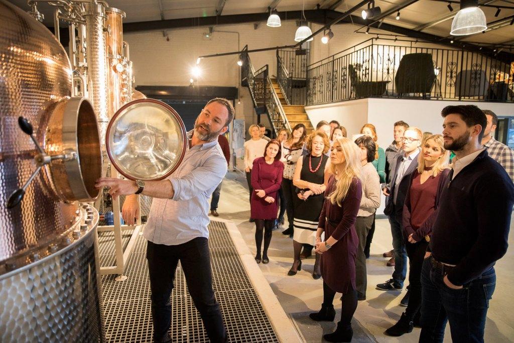 Hayman's Gin distillery tour