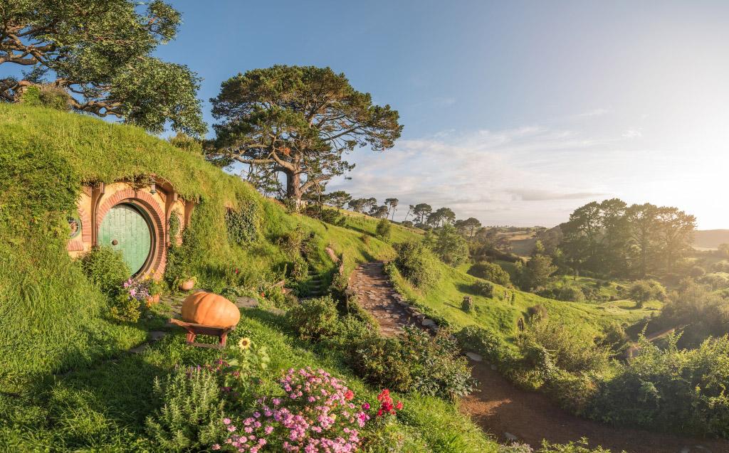 The beauty of Hobbiton.