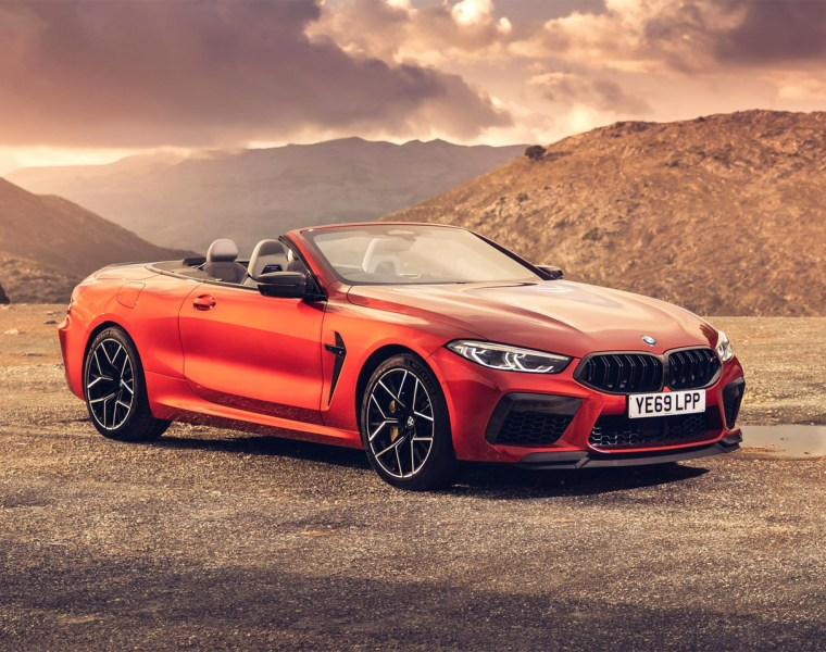 BMW M8 Competition Coupé and BMW M8 Competition Convertible