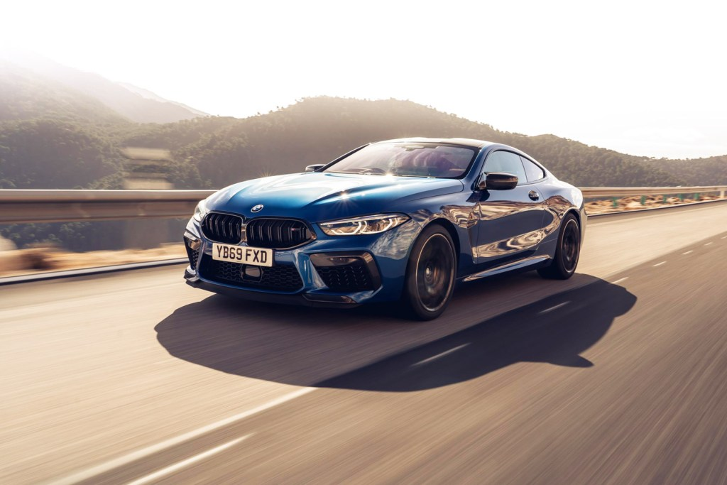 The BMW M8 Competition Coupé and BMW M8 Competition Convertible 5