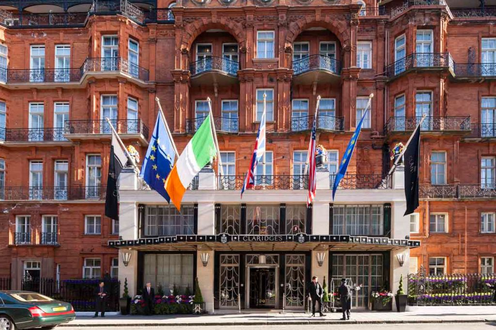 Claridge's Hotel Mayfair London Exterior