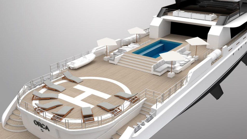 "Rosetti's 65m Explorer Project ""Orca"" - Innovation Inspired by Nature 7"