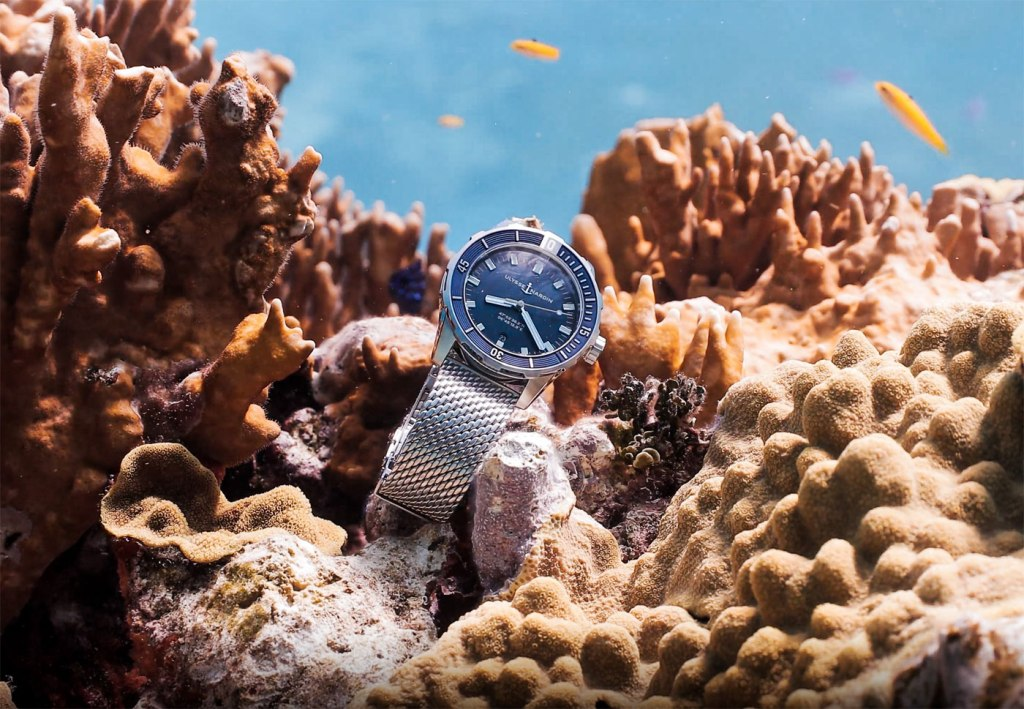 The Ulysse Nardin diver watch waiting to be found on Rolling in the Deep