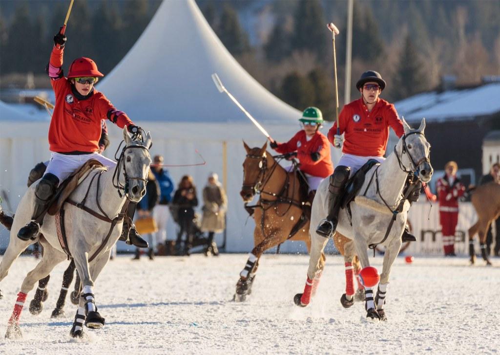 Engel & Volkers at 18th Bendura Bank Snow Polo World Cup Kitzbühel 2020