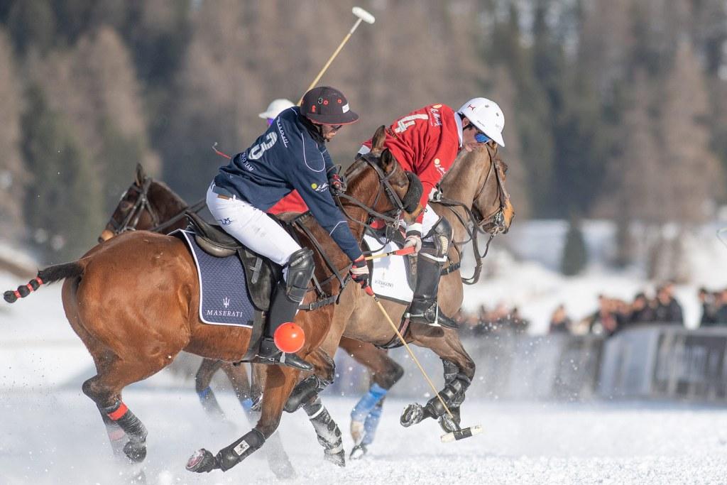 Maserati vs St. Moritz 2020 Snow Polo World Cup St. Moritz