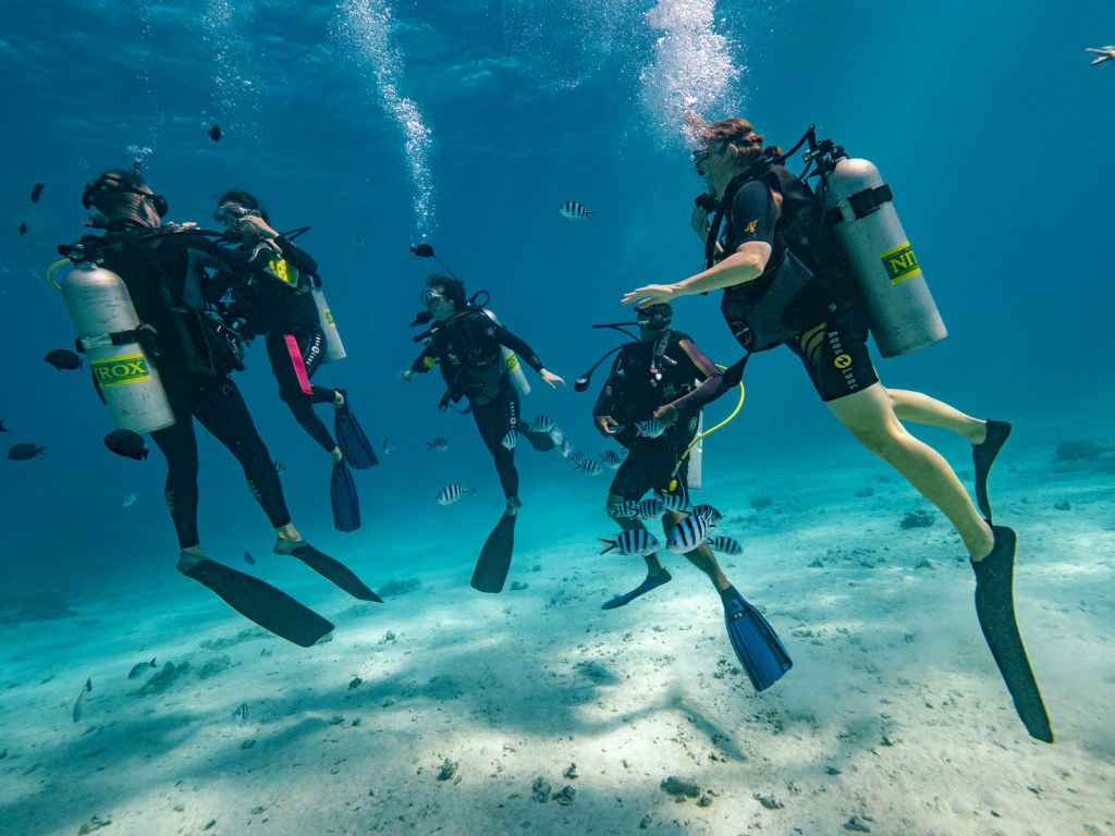 What are the Best Dive Sites in The Islands of Tahiti?