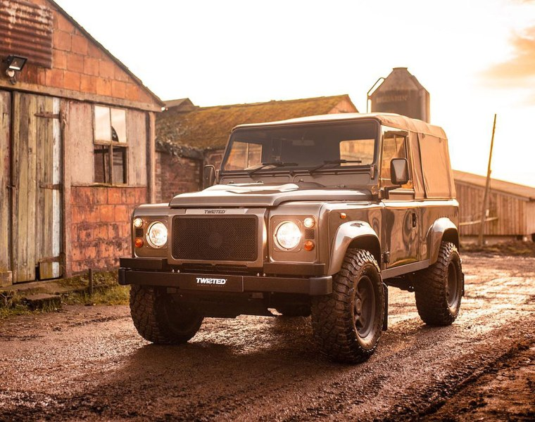 Twisted Automotive Continues the Classic Land Rover Defender Legacy