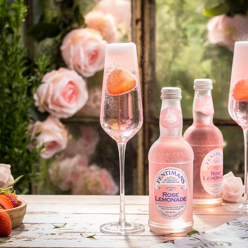 Fentimans Rose Lemonade for Valentine's Day