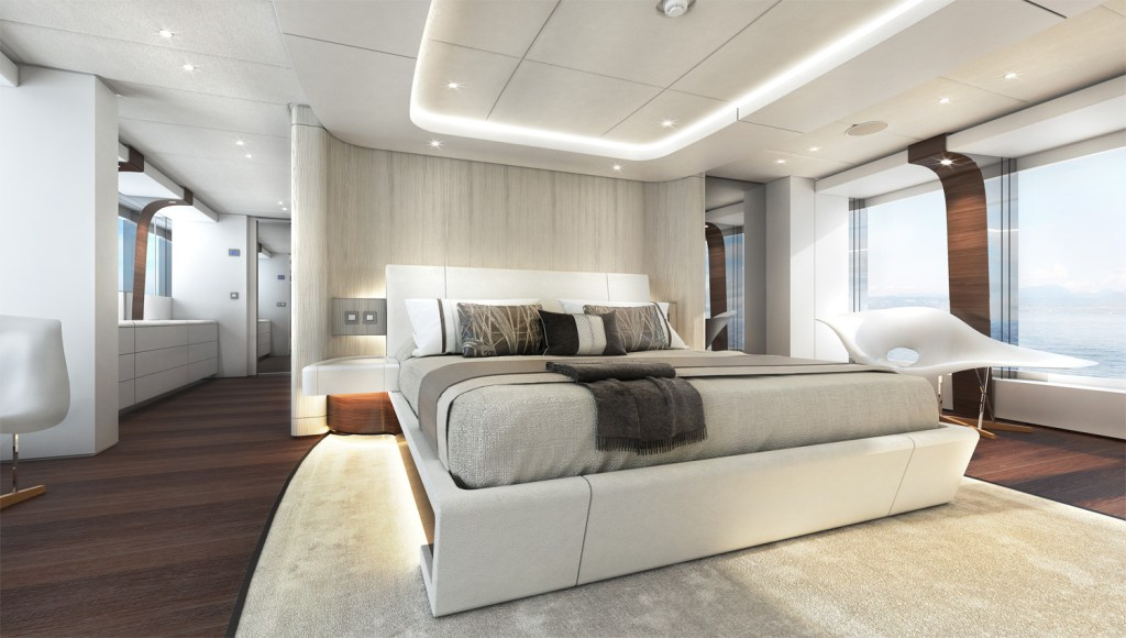 Heesen Electra Owners Stateroom
