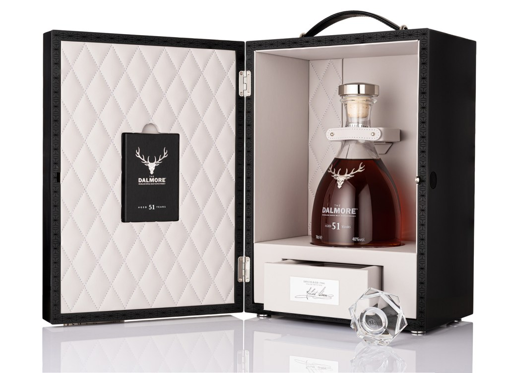 The Dalmore Aged 51 Years in presentation case box