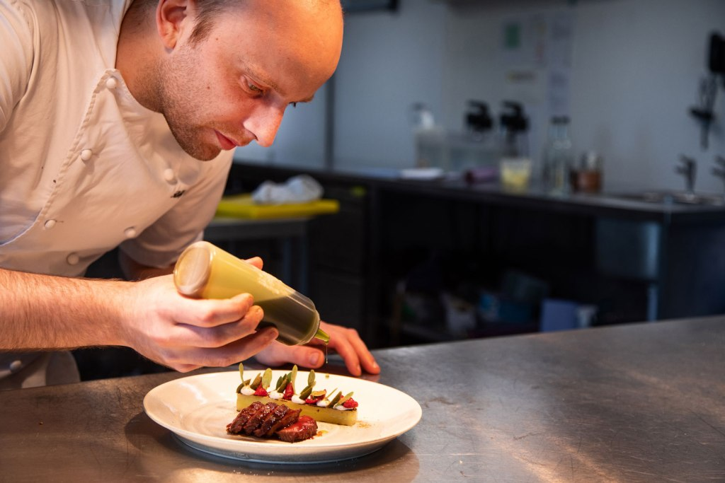 The Samling Hotel Executive Head Chef, Robby Jenks