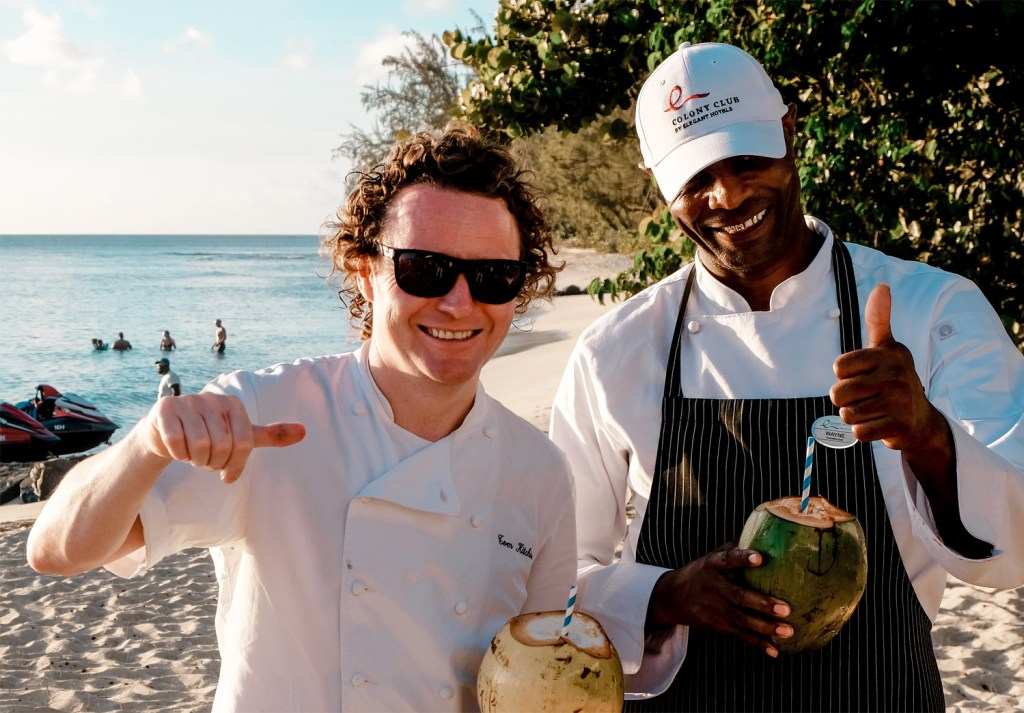 Bajan and Scottish Cuisine Meet at Tom Kitchin's Culinary Events in Barbados