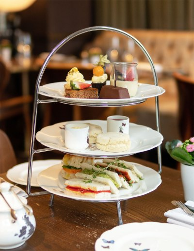 Vegan afternoon tea at Galvin At The Athenaeum
