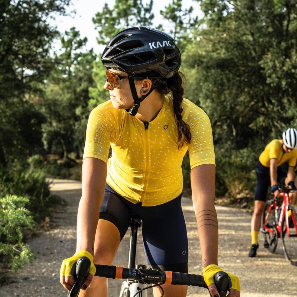 Velocio Ultralight yellow jersey 2020