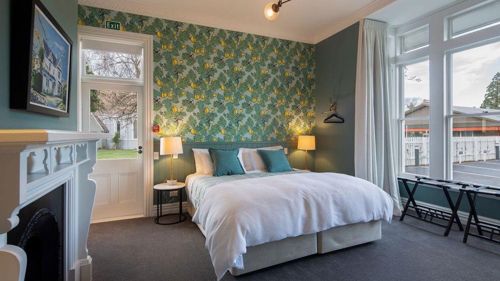 Bedroom in the Vicarage in Geraldine new Zealand