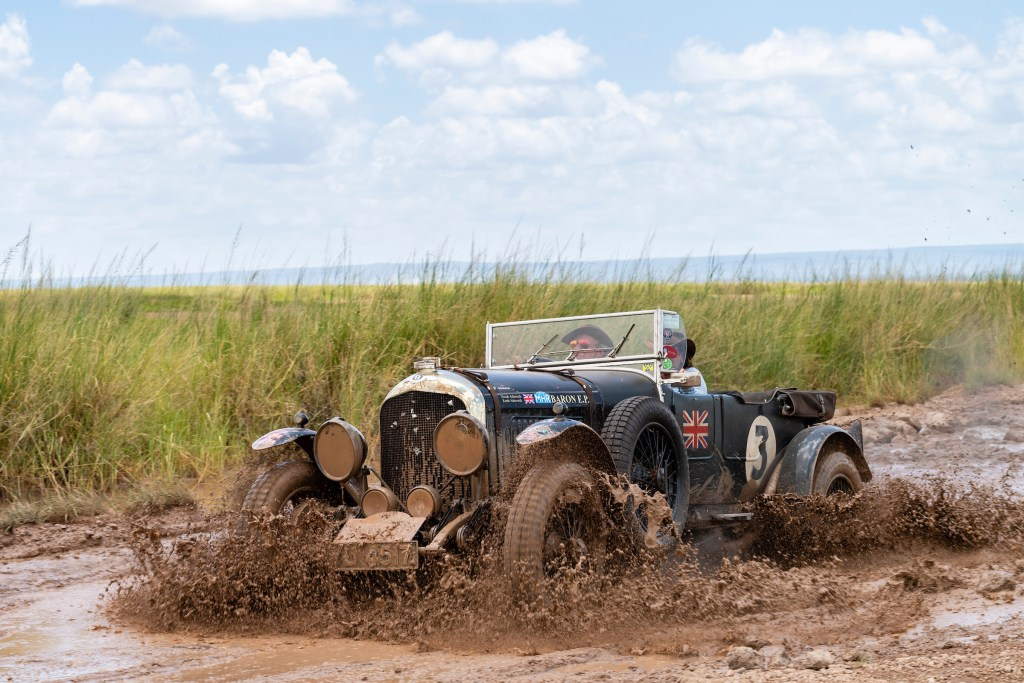 1927 Bentley 4 ½ Le Mans Wins Southern Cross Safari in Africa