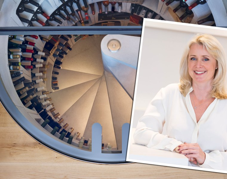 Lucy Hargreaves Managing Director of Spiral Cellars