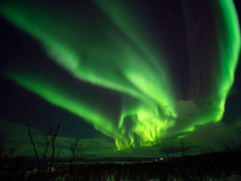 Northern Lights virtual reality experience