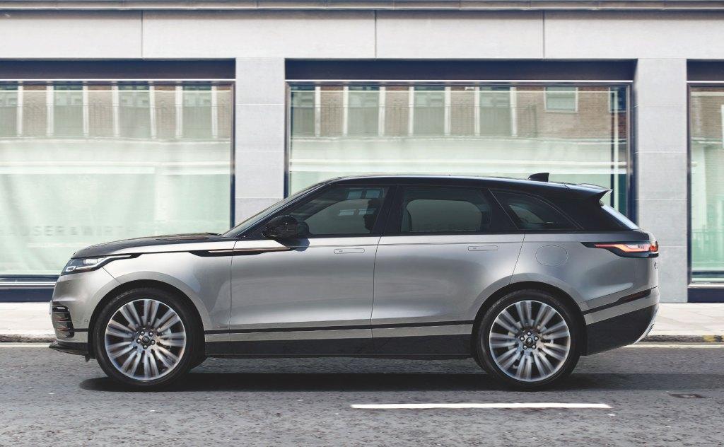 Range Rover Velar via The Out App