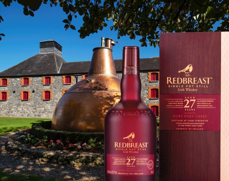 Redbreast 27 Year Old Irish Whiskey