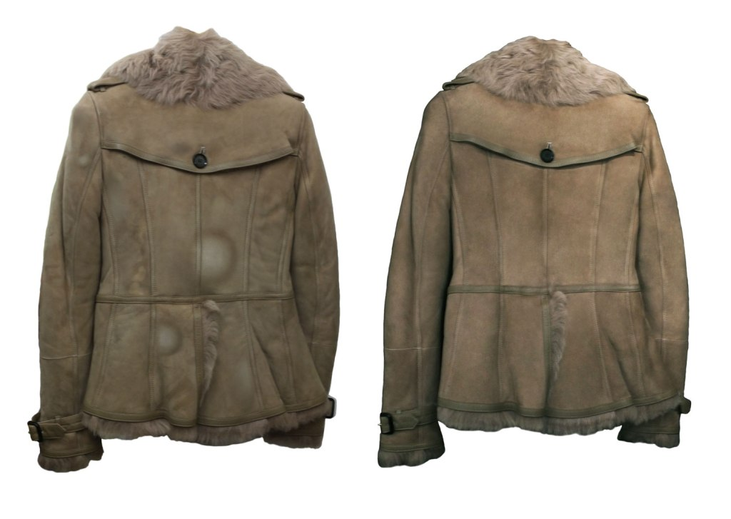 Restored Burberry Jacket