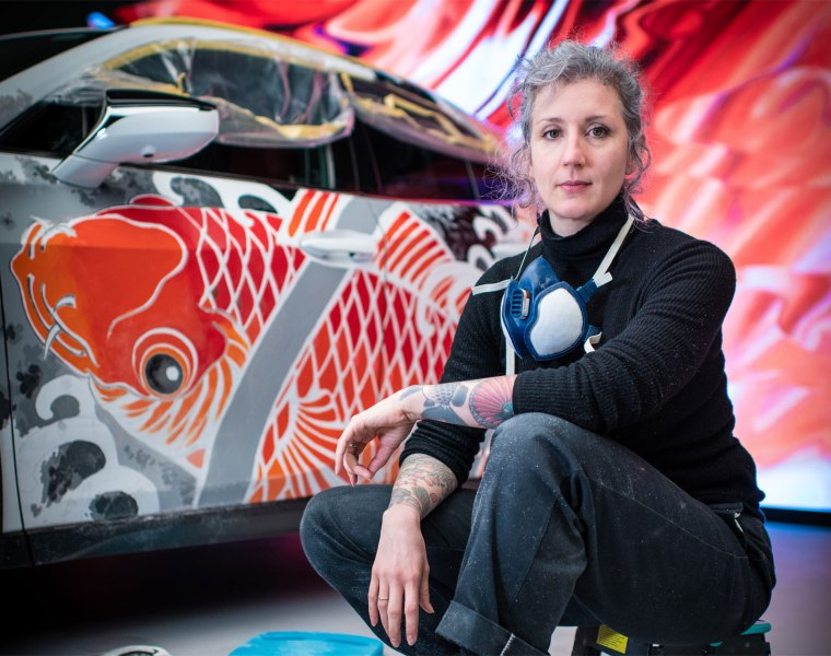 Lexus Draws Inspiration From Japan For First Ever Tattooed Car