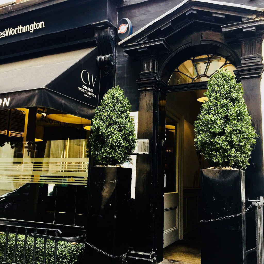 The Charles Worthington flagship salon in London