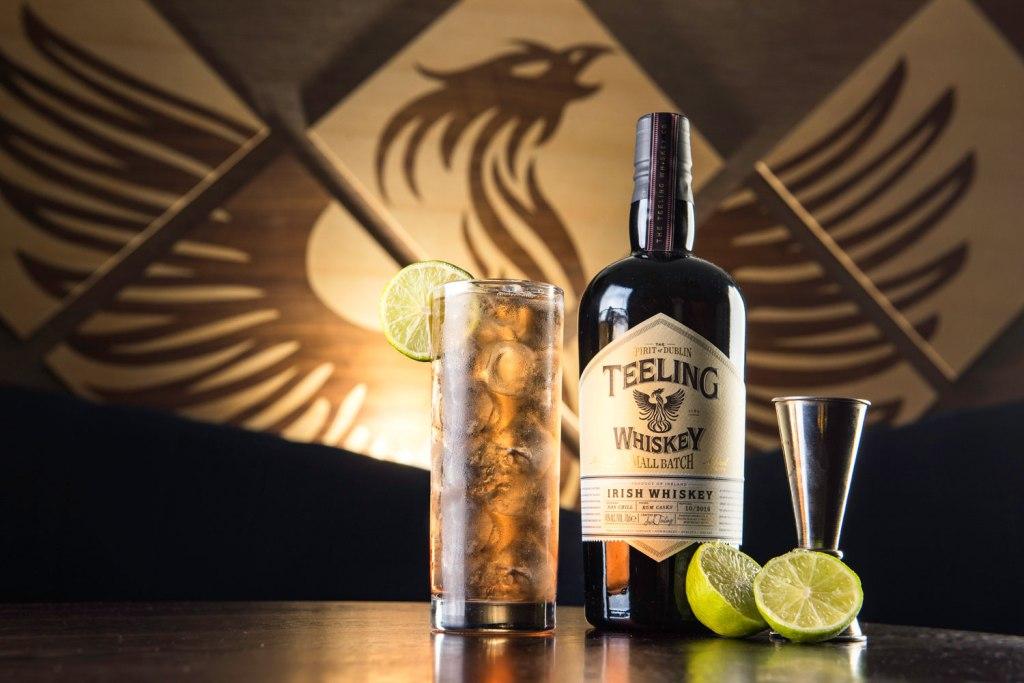 Bottle of Teeling Whiskey Small Batch