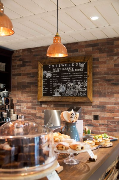 The Cotswolds Distillery Cafe.