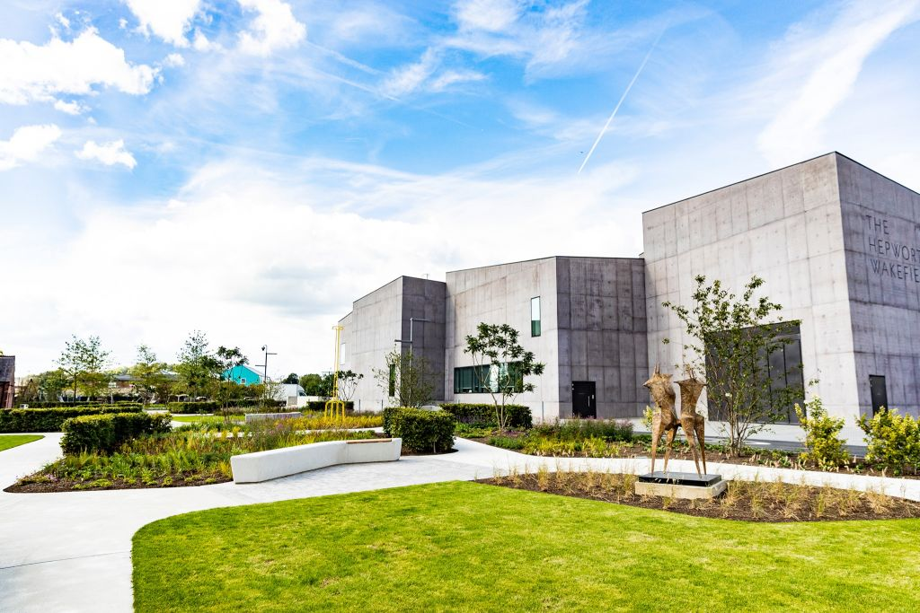 The Hepworth Wakefield building exterior