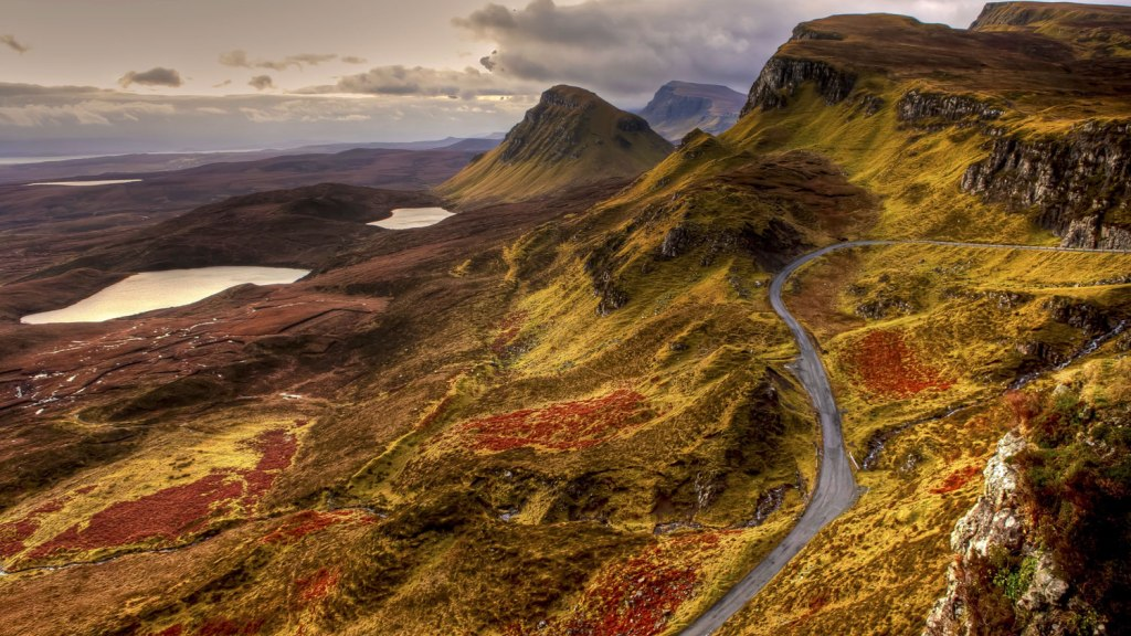 The wild natural beauty of Scotland