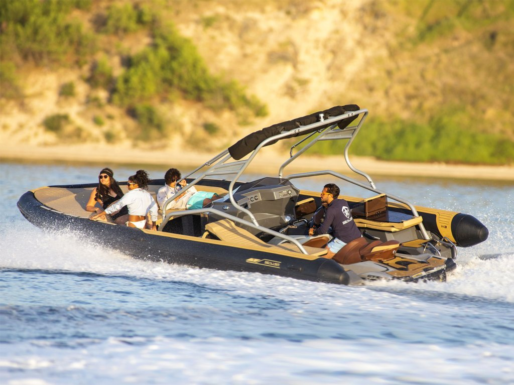 The Jet ski or Propeller Powered Wave Boat Z-Line Hits the UK