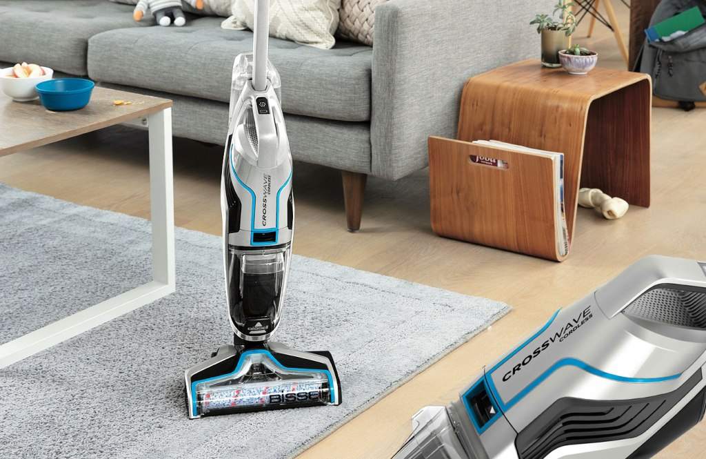 The Bissell Crosswave Cordless is a Multi-Suface Cleaning Revelation