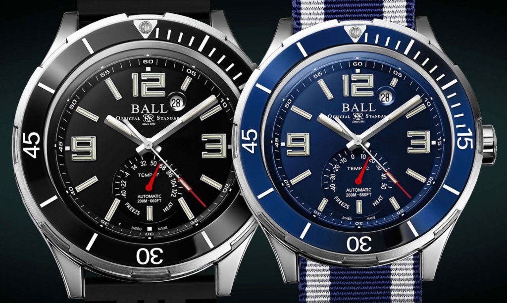 The Roadmaster TMT Timepiece from Swiss Luxury Watchmaker Ball