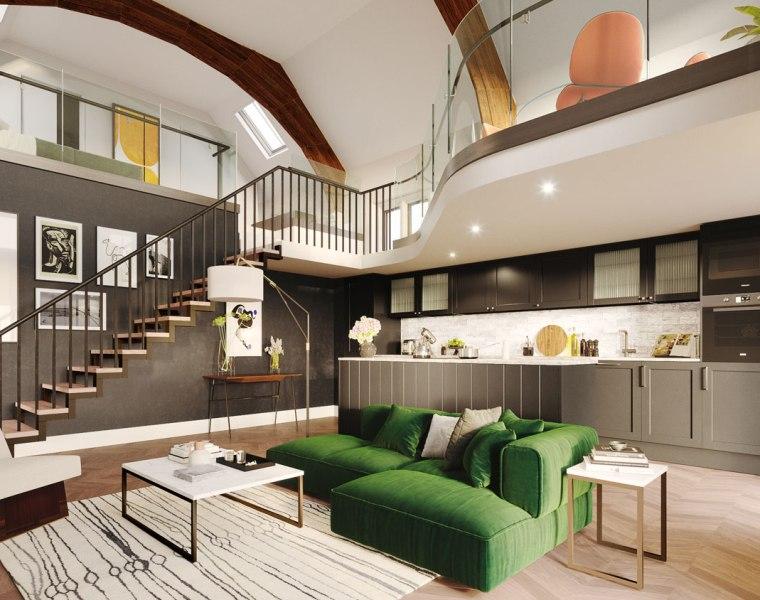 Apartments at Luxury Church Conversion Bower & Barnaba