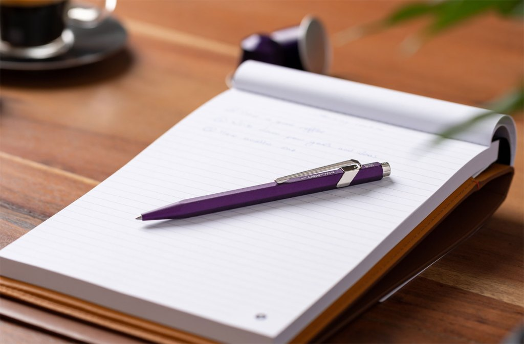 Caran d'Ache and Nespresso Put The Environment First with New Ballpoint Pen